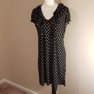 Perfect in Polka Dots! New Directions Dress sz 12